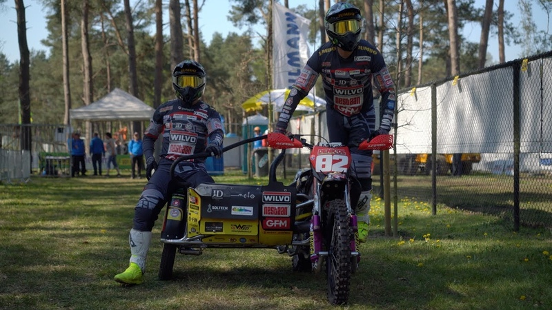 WSC Grand Prix Training Qualifying The Netherlands Oldebroek World Sidecarcross Championship