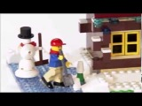 LEGO® Creator Designer Tips - Winter Log Cabin