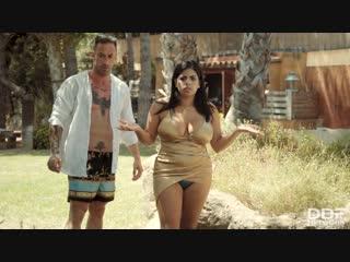 Kesha ortega and sheila ortega - curvy twins double fuck [all sex, hardcore, blowjob, big tits, group]