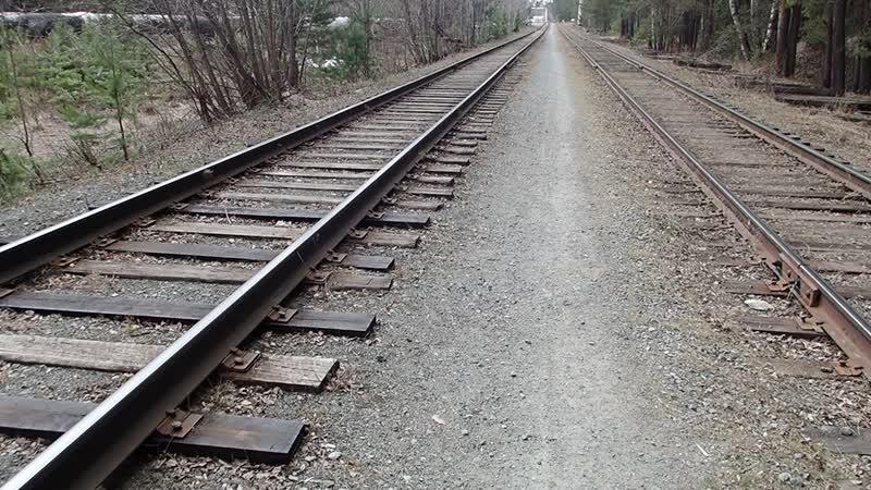 Маршрут для пробежек в Закамске. Железнодорожные пути