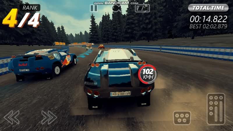 Ralli racer evo.android игры на пк через программу BlueStacks