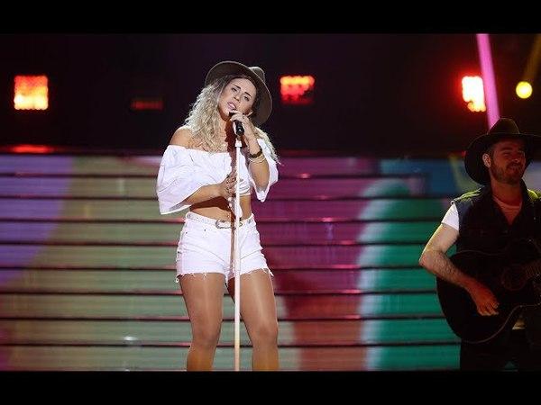 Lucía Gil imita a Miley Cyrus Tu cara Me Suena