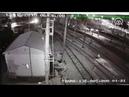 Tren kazasının görüntüleri ortaya çıktı