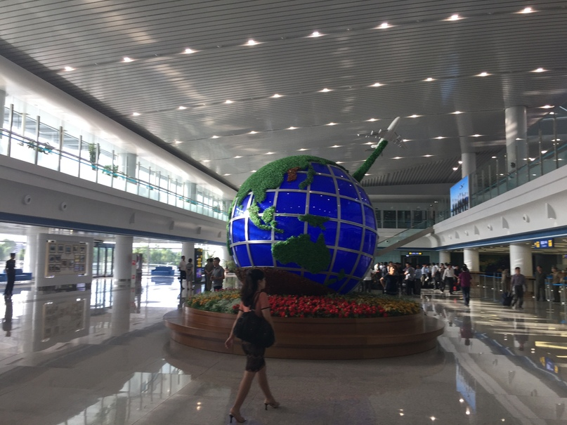 Северная Корея Владивосток. Аэропорт Пхеньяна