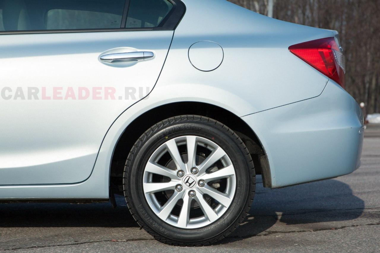 Клиренс Civic 4D 2013