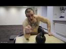 Как развить сильный хват! Упражнения с гирей от Виктора Блуда