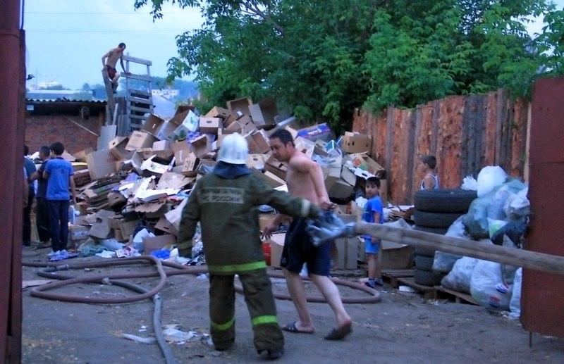 Пожар в Дурнях фото