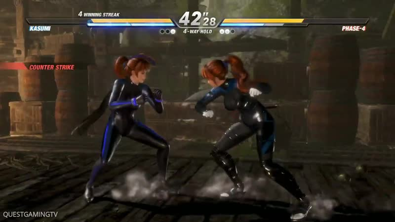 Dead or Alive 6 - New Gameplay KASUMI vs PHASE 4