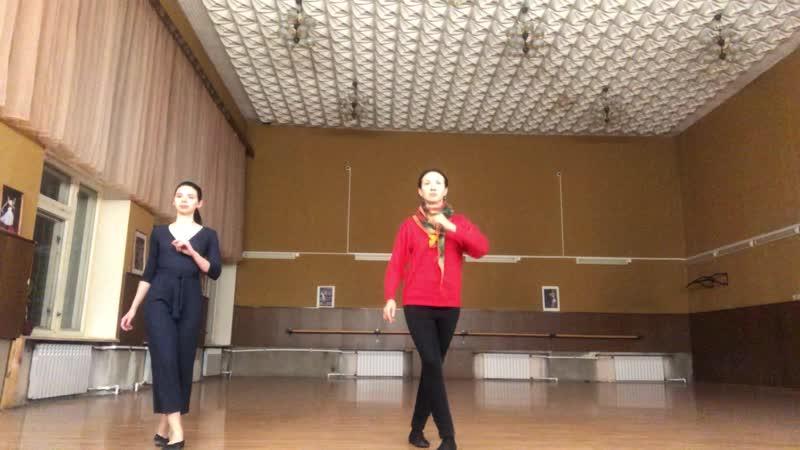 Как можно станцевать целый танец на базовых шагах
