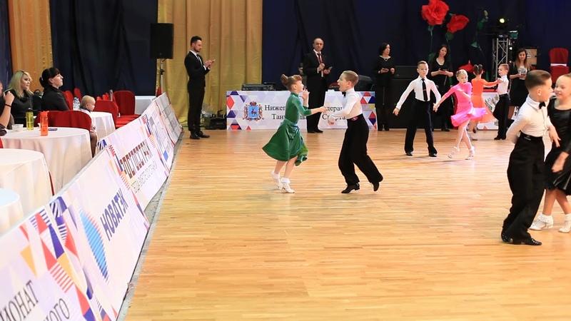 Крючков Пронская Imperial Cup Нижний Новгород Дети 1 Джайв