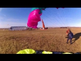 Прыжки с парашютом с Ан-2 Приземлился рядом с Сергеем Долгополовым и попал в кадр его видеокамеры