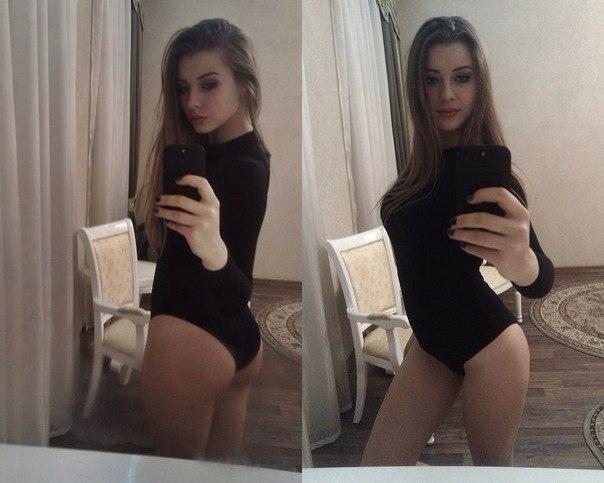 фото русских девушек в зеркале