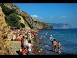 Крым. ПЕРЕПОЛНЕННЫЙ пляж!!! Отдых и цены на Яшмовом Пляже. Нудисты есть?