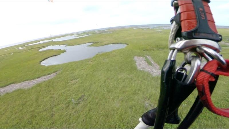 HUGE Landgaps - Backcountry kiteboarding!