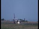 Разбег перед взлётом SSJ100 Аэрофлот