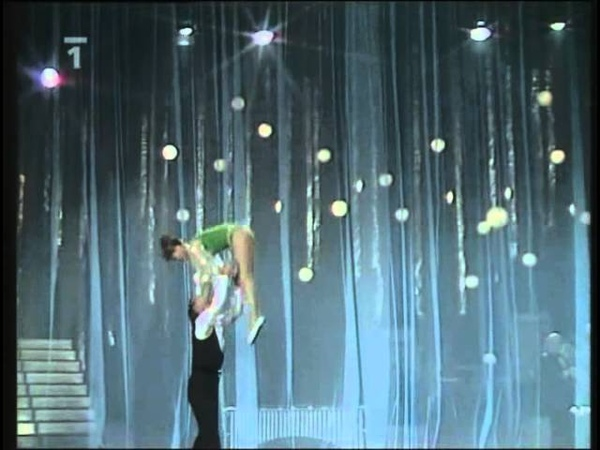 Mikhajlova-Dronov (Михайлова-Дронов), acrobatic pair / акро-пара, 1978