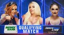 BLOG video Becky Lynch vs Mandy Rose vs Sonya Deville Winner Qualify For MITB Smackdown Live 15 May 2018