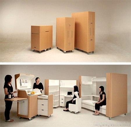 Мебель-трансформер Kenchikukagu