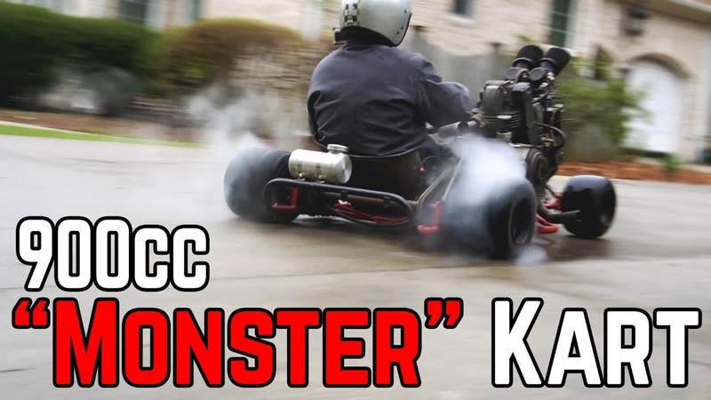 DUCATI 900CC DEATH MACHINE | 70 HP Shifter Kart