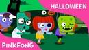 Zombis Escalofriantes   Canciones de Halloween   PINKFONG Canciones Infantiles