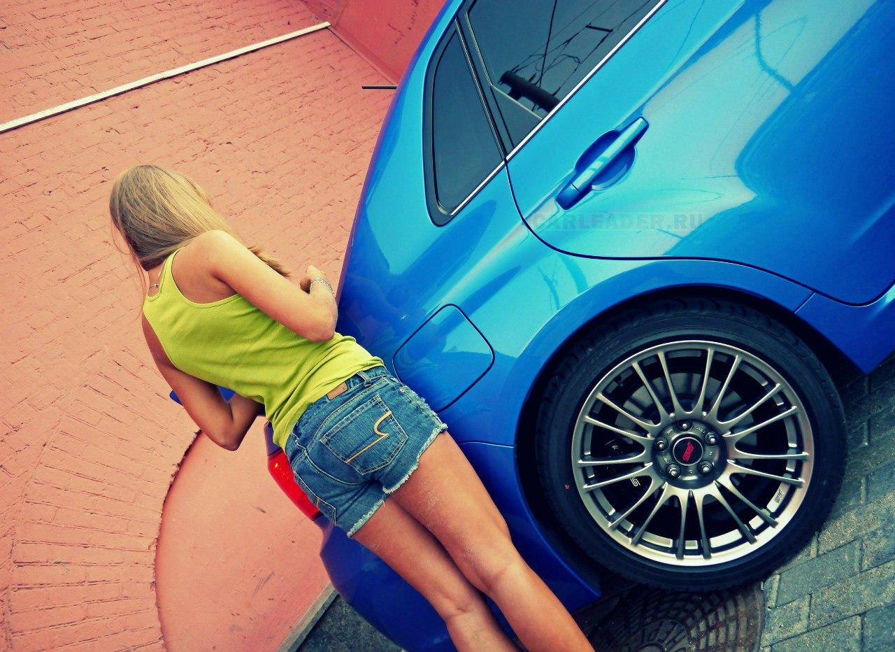 Subaru WRX STI 2013 Maria Valkina