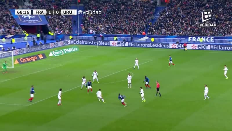 Товарищеский матч (20.11.2018) | Франция 1-0 Уругвай