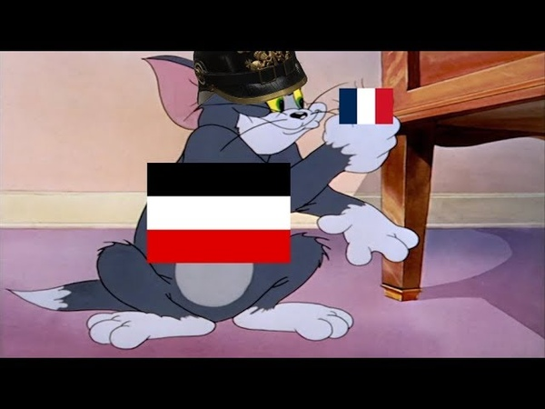 Tom and Jerry WW1 Meme - Joffre comes in with the save (Western Front)