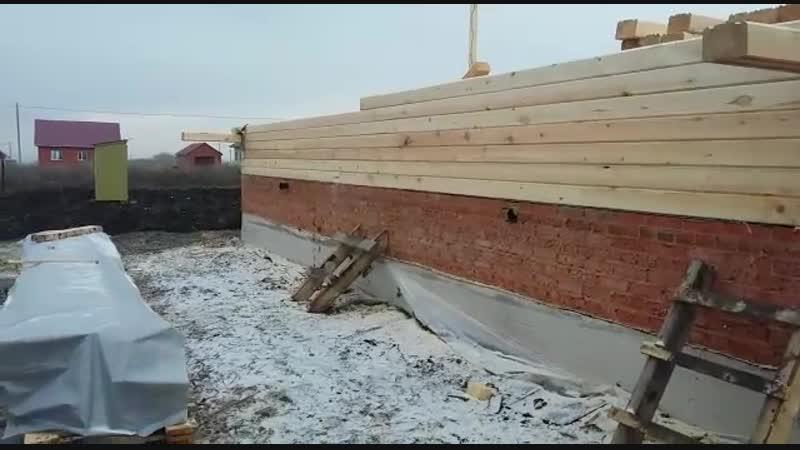 Строительство дома 8,4х10,4 в Аургазинском р-не с.Толбазы