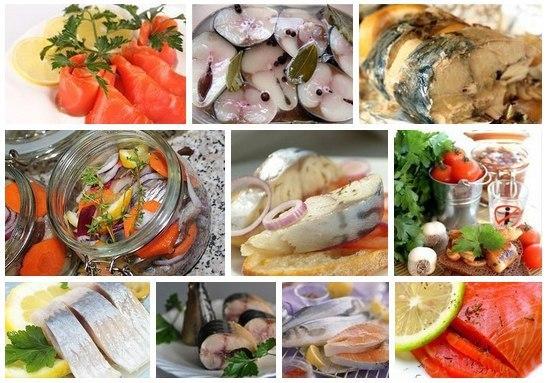 9 маринадов для рыбы 1.) ВКУСНАЯ СОЛЕНАЯ РЫБКА