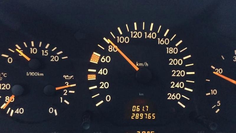 Mercedes w140 s300 td расход топлива при небольшой скорости