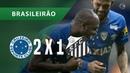 CRUZEIRO 2 X 1 SANTOS - GOLS - 23/09 - BRASILEIRÃO 2018