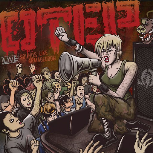 Otep альбом Sounds Like Armageddon - Live