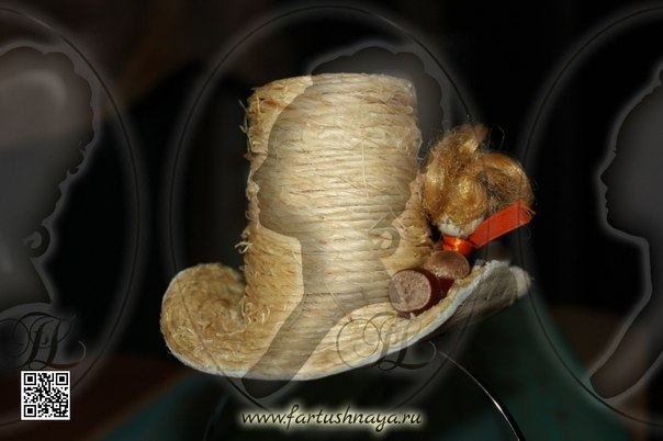 Шляпка Би-би от Любови Фартушной