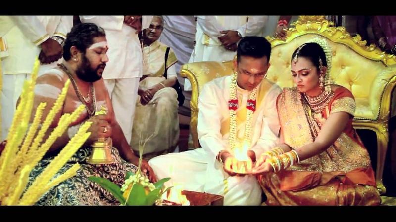BEST Indian Hindu Cinematic Wedding Video of Suhan Shamili. Song Anbil Avan