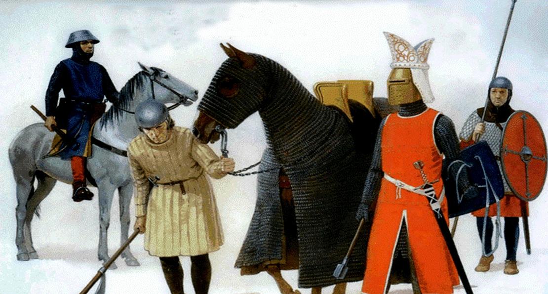 Немецкие рыцари