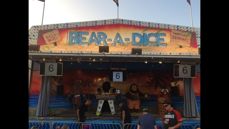 Bear-a-Dice Show | Creative Engineering (Kentucky State Fair 8/26/17)