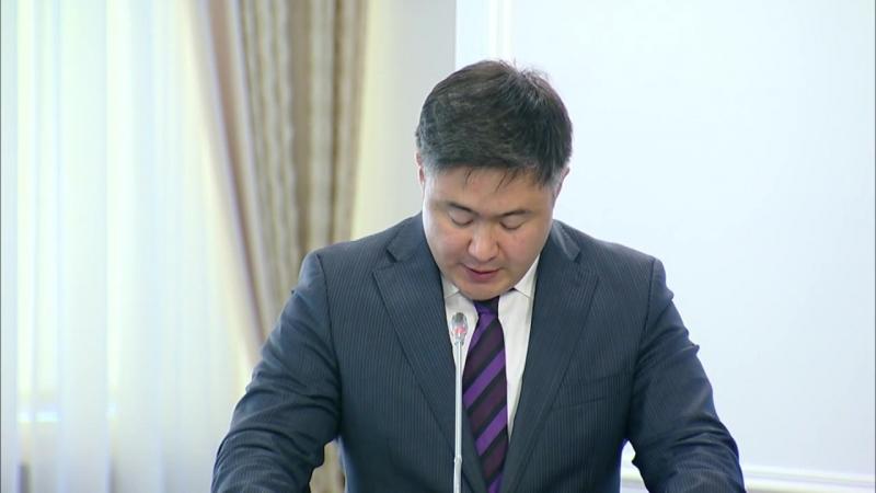 Астана құрылысының кешенді жоспары аясында іске асырылып жатқан шаралар туралы (Сүлейменов)