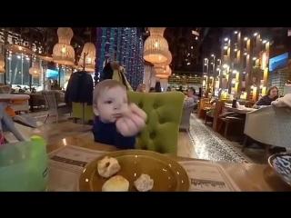Обзор ресторана от маленького Ярослава