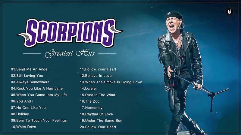 Scorpions Best Ballads - Scorpions Greatest Hits Full Album