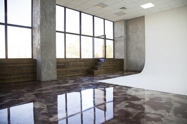 наливной бетонный пол для дома