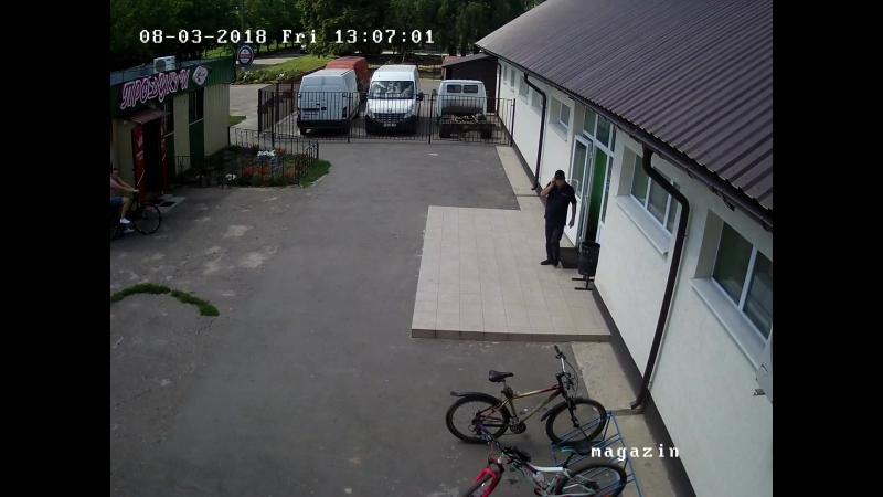 Крадіжка велосипеда у селі Щербані під Полтавою