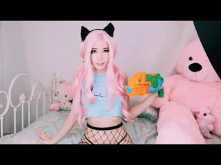 Belle delphine squirts all over the floor
