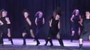 Современные танец Евгения Лиманская и основной состав школы восточного танца Бисер