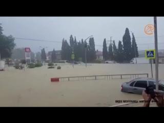 Потоп в Адлере 06.07.2018