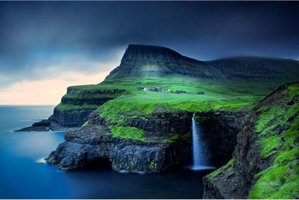 Водопад Гасадалур, Фарерские острова