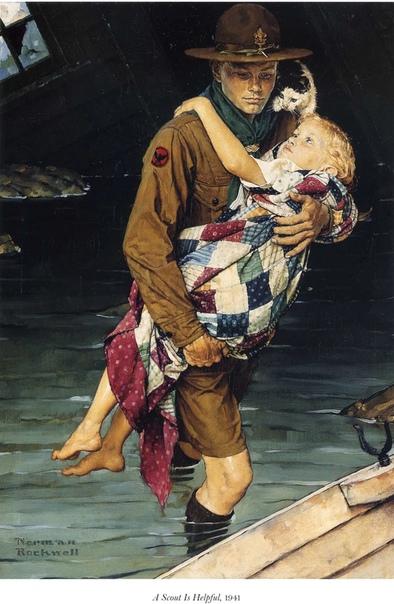 Норман Роквелл американский художник, который лучше всех изобразил Американские мечты Этот художник оставил после себя огромное количество работ, около четырёх тысяч рисунков и картин. На этих