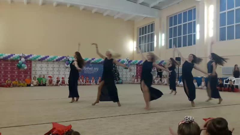 танец тренеров