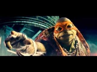 Черепашки ниндзя (2014) Дублированный трейлер №3   HD