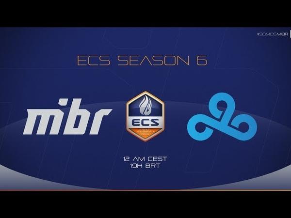 MIBR vs Cloud9 | ECS Season 6 North America | Map 1: Mirage
