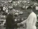 Репортаж о матчевой встрече СССР - Англия в 1956 году